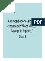 Classe 9 PDF - Navegações