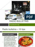 Radio Bulletins