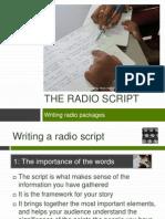 Writing A Radio Script