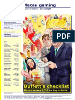 Buffet's Checklist on Macau Gaming