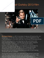 The Great Gatsby-2013 Film