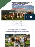 20121002 Cresterea Si Selectia Taurinelor