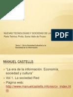 Tema 1. De la Sociedad Industrial a la Sociedad de la Información [En diapositivas]