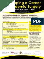 DCAS 2014 Medical Student Application Form