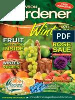 Winter 2011 Gardener