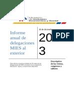 informe tecnico de gestion de delegaciones a dic2013