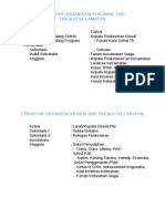 Struktur Organisasi Pokjanal Dbd