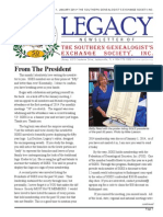 Legacy Newsletter - January 2014