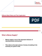 Different Bank Rates and Their Application