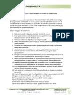 Normativa de Uso y Mantenimiento de Equipos de Computacion