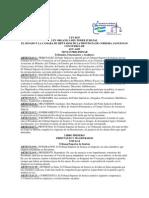 Ley Organica Del PJ de Cordoba L.8435
