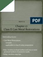 cast metal restoration