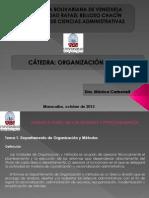 Org. y Mèt. Tema 1. Unidad II