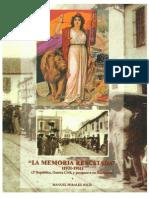 La Memoria Rescatada (1931 -1951) - Manuel Perales Solis