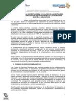 Ministerio de Educacion Guia Fondos de Servicios Educativos
