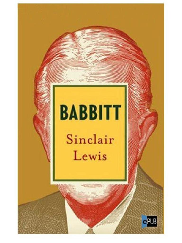 De Sinclair Lewis 3 V1 Babbitt Ow8n0yvmN