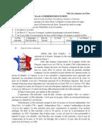 VIIe, test de CE, les Fetes francaises
