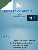 Registo Comercial Actual.ppt