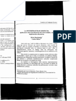 Duschatzky, S. Skliar, C. 2000. La Diversidad Bajo Sospecha - Copia
