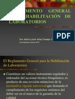 5. Reglamentacion de Laboratorios
