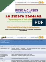 Regreso a clases 2013-2014 Zona Educativa Táchira