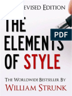 William Strunk, Jr. the Elements of Style (Updated 2011 Edition) 2011