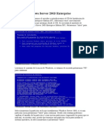 Paso a Paso Windows Server 2003 Enterprise