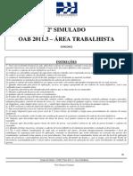 2 Simulado_OAB 2 Fase_20113
