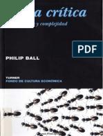 Philip Ball - Masa Critica. Cambio Caos y Complejidad