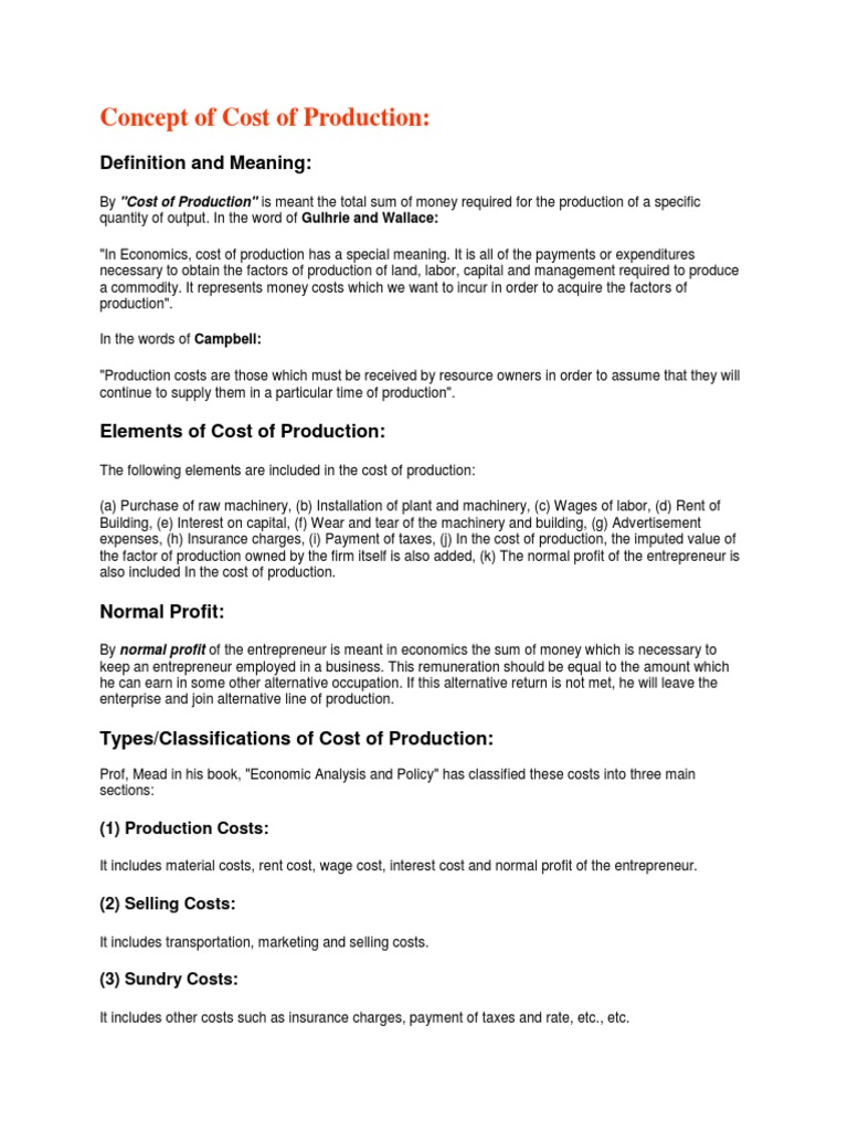 Production costs перевод www biglion ru москва