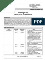 Wa6102x 2 Flf 32 and Oap6626a Flf 32 Fw Release Note