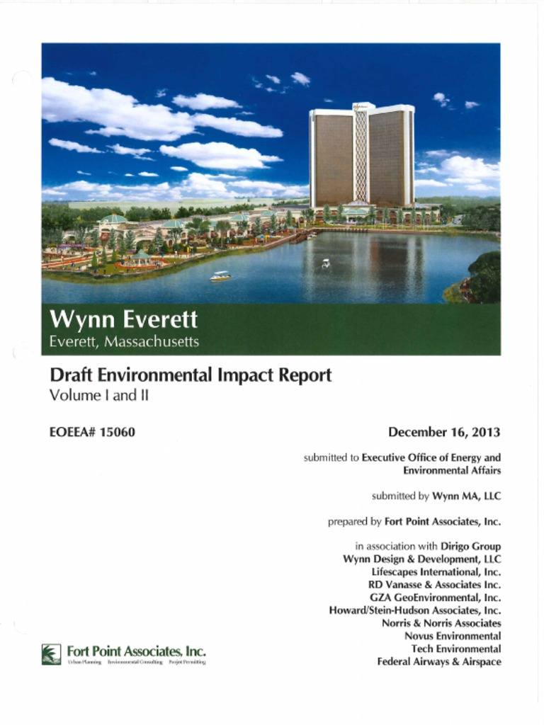Wynn Casino Draft Environmental Impact Report