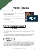 1ero. Año - LIT - Guía 7 - Literatura Incaica