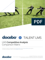 Lms Comparison Matrix - Docebo & Talent Learning Management Systems