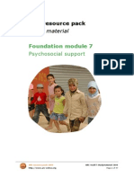 ARC Foundation Module 7 Psychosocial Support