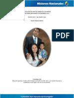 Informe Misionero a Diciembre 2011 San Andres, Dto 8