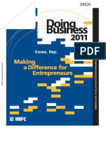 WB. Korea. Doing Busin 2011. A Diff for Entrepr.pdf