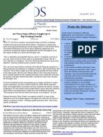 International Center for Academic Integrity - Ethos Newsletter, January 2014