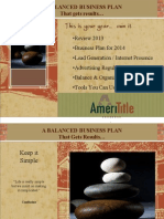 Effective Business Planning - 2014