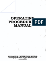 Life & Death - Operating Procedures