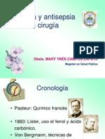 Clase 2. ASEPSIA Y ANTISEPSIA EN CIRUGÍA
