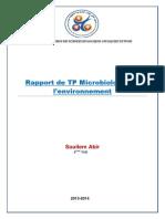 Rapport de TP Microbiologie