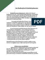 Experientele lui Rutherford:Modelul planetar al atomului