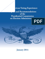Voting Commission Recommendations