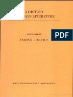 Edwin Gerow Indian Poetics