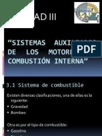 Sistemas Auxiliares de los motores de Combustión