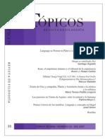 Imago et similitudo Dei, Tópicos, 33 (2007)