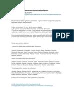 Tips para redacción de objetivos de un proyecto de investigación