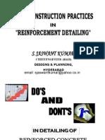 Reinforcement Detailing by SJaswantKumar
