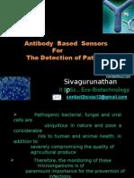Immuno Sensors for the detection of Pathogens
